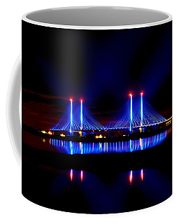 Reflecting Bridge - Indian River Inlet Bridge Coffee Mug