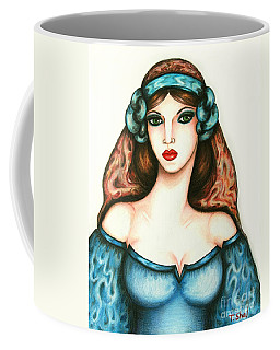 Roman Woman Coffee Mug