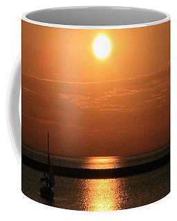 Sailboat A Drift Coffee Mug by Kay Novy