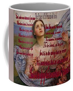 Sense Of Sight Prayer Coffee Mug