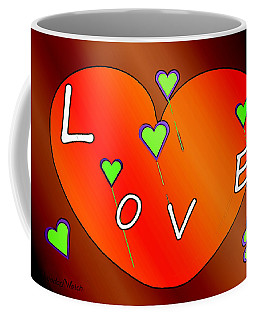 Simple  Love  Heart  - 505  Coffee Mug