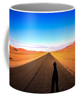 Sossusvlei Park Road Coffee Mug