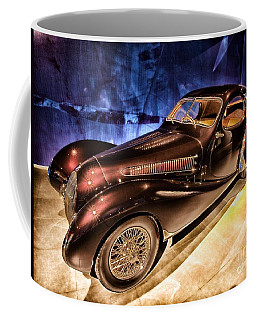 Coffee Mug featuring the photograph  Talbot Lago 1937 Car Automobile Hdr Vehicle  by Paul Fearn
