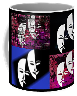 Thalia And Melpomene Coffee Mug