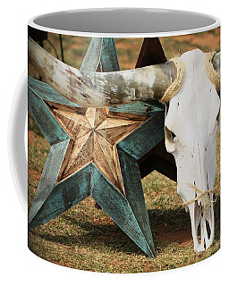 The Heart Of Texas Coffee Mug
