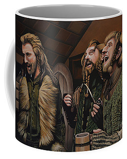 The Hobbit And The Dwarves Coffee Mug