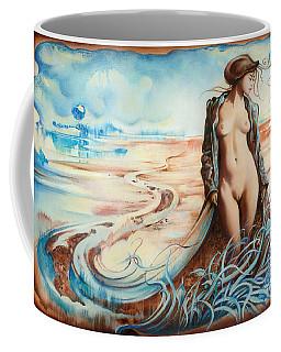 The Last Walk Of Autumn Coffee Mug