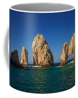 The Sea Arch El Arco De Cabo San Lucas Coffee Mug