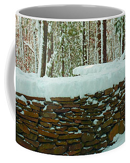 The Snow Fort Coffee Mug by Bruce Carpenter