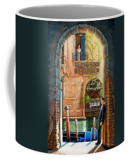 Thinking Of You Trattoria Sempione San Marco 578 Venezia Coffee Mug