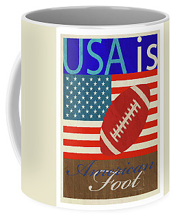 Usa Is American Football Coffee Mug