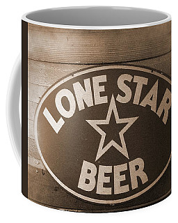 Vintage Sign Lone Star Beer Coffee Mug