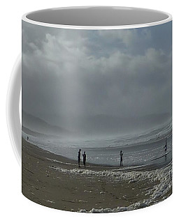 Coffee Mug featuring the photograph  Wave Handstand  by Susan Garren