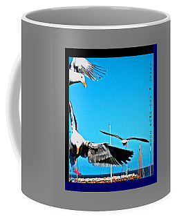 West Coast Sea Birds Coffee Mug