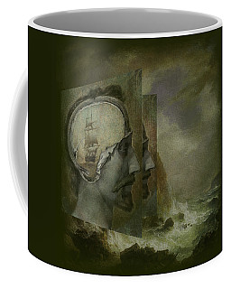 When A Man's Thoughts Turn Toward The Sea Coffee Mug