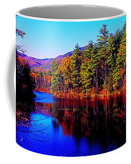 White Mountians National Park Red Eagle Pond New Hampshire Coffee Mug by Tom Jelen