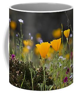 Wildflowers Explode Coffee Mug