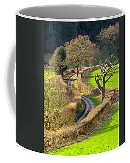 Winding Country Lane Coffee Mug