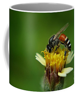 Working Bee Coffee Mug by Michelle Meenawong