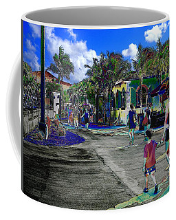 St Croix Stencil  Coffee Mug