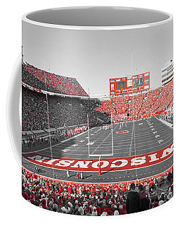 0095 Badger Football  Coffee Mug