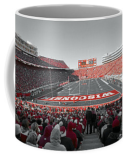 0096 Badger Football Coffee Mug