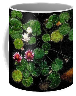 0148-lily -   Embossed Sl Coffee Mug