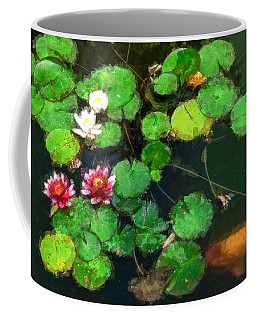 0148-lily -   Oil Stain Sl Coffee Mug