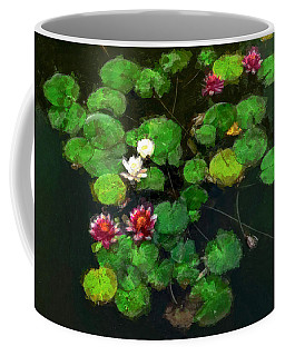 0151-lily -   Oil Stain Sl Coffee Mug