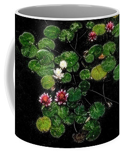 0151-lily - Embossed Sl Coffee Mug