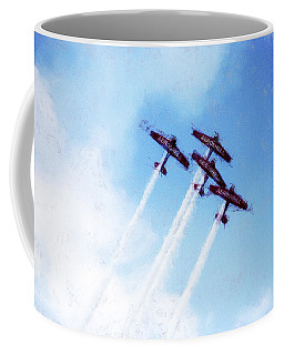 0166 - Air Show - Acanthus Coffee Mug