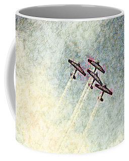 0166 - Air Show - Colored Photo 2 Hp Coffee Mug