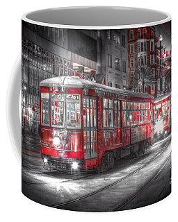 0271 Canal Street Trolley - New Orleans Coffee Mug