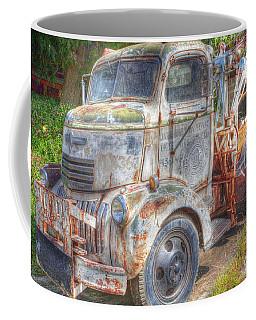 0281 Old Tow Truck Coffee Mug