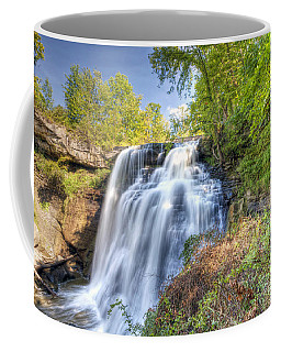 0302 Cuyahoga Valley National Park Brandywine Falls Coffee Mug