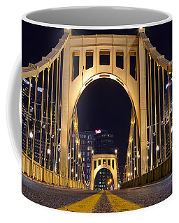 0304 Roberto Clemente Bridge Pittsburgh Coffee Mug