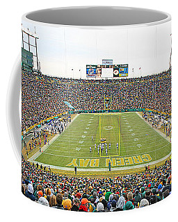 0349 Lambeau Field Panoramic Coffee Mug