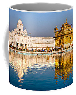 Golden Temple In Amritsar - Punjab - India Coffee Mug by Luciano Mortula