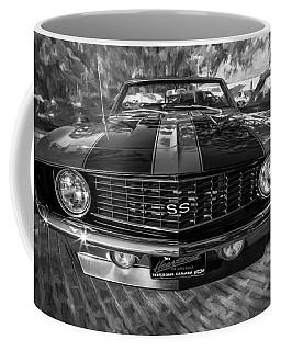 1969 Chevy Camaro Ss Painted Bw Coffee Mug