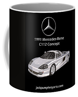 1991 Mercedes Benz C 112 Concept Coffee Mug
