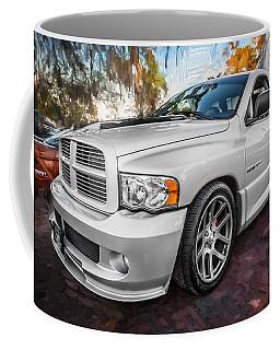 2004 Dodge Ram Srt 10 Viper Truck Painted Coffee Mug