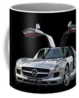 2010 Mercedes Benz Sls Gull-wing Coffee Mug by Jack Pumphrey