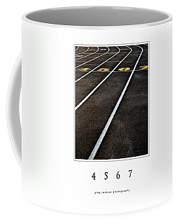 Coffee Mug featuring the photograph 4 5 6 7 - 1a by Greg Jackson