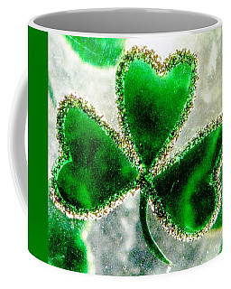 A Shamrock On Ice Coffee Mug