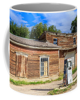 Coffee Mug featuring the photograph Abandoned Mining Buildings by Susan Leonard