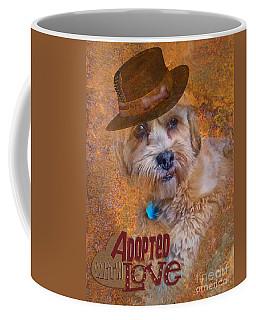 Adopted With Love Coffee Mug