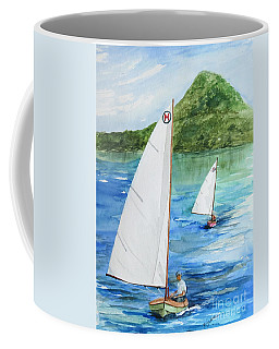 After The Race  Coffee Mug by Nancy Patterson