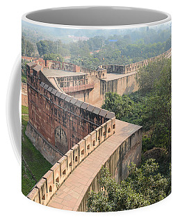 Agra Fort Tourist Destination In India Coffee Mug