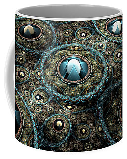 Alien Station Coffee Mug by Svetlana Nikolova