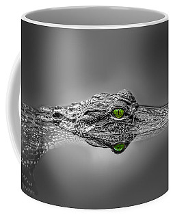 Alligator Coffee Mug by Peter Lakomy
